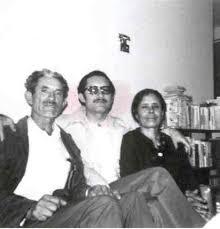 J. Encarnación Martínez y Benita Campos, con Silviano (Foto de . )