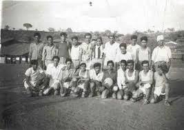 Ziquítaro. Futbolistas en 1956